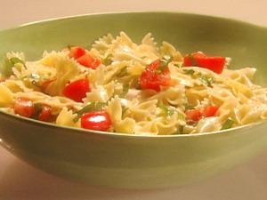 Lemon/basil pasta