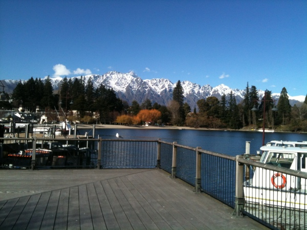 Queenstown - Dock at Lake Wakatipu