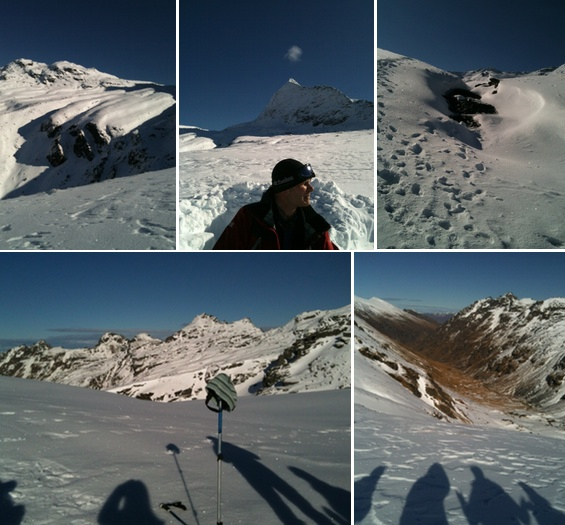 heli snow shoeing queenstown photos