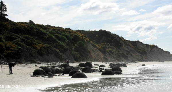 MOERAKI BOULDERS south island road trip campervan