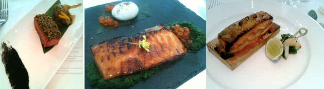 ora king salmon the wharf